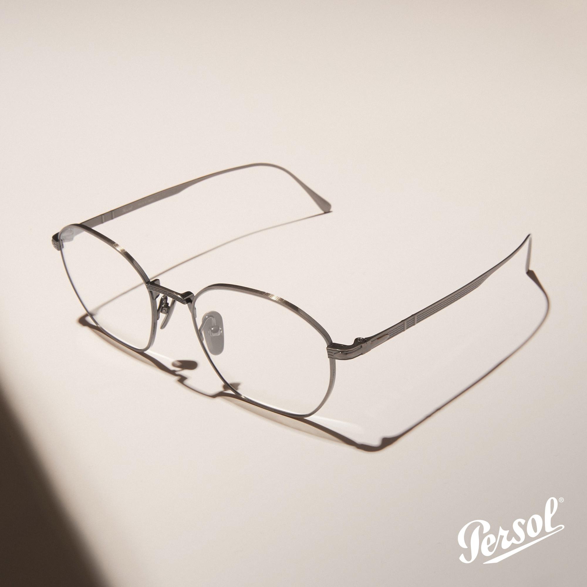 Persol -Óculo de Sol Silver- Pitosga Óptica