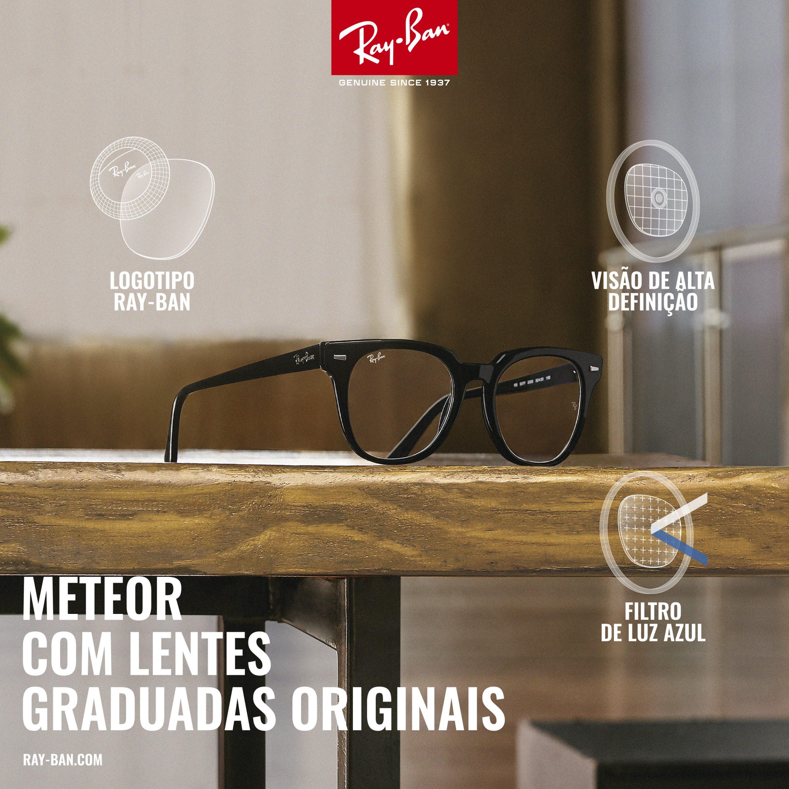 Meteor com lentes graduadas originais - Óptica Pitosga