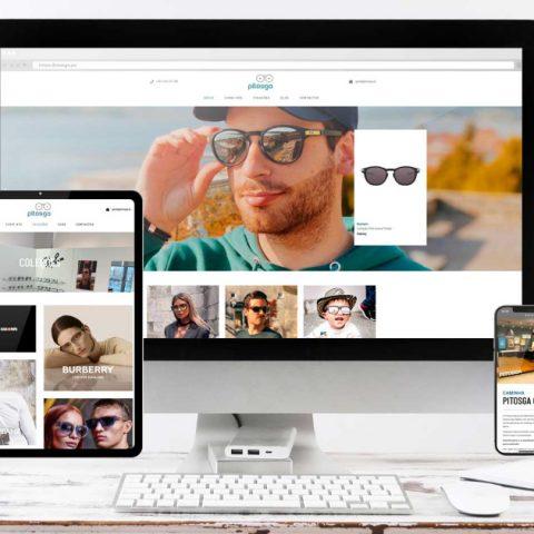 Website - Pitosga Óptica
