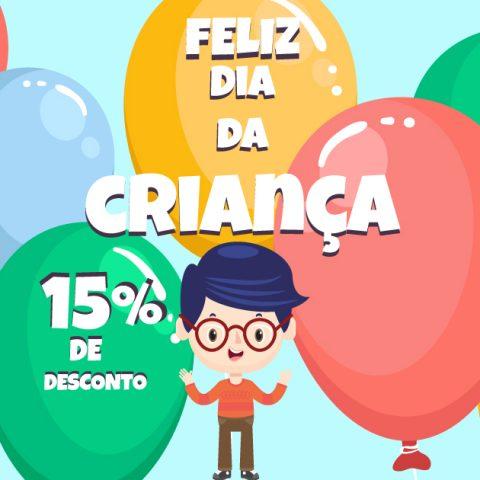 Promoção Dia da Criança Óptica Pitosga - Óptica Pitosga